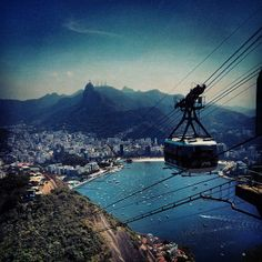 Rio is so multi faceted in its natural beauty, cityscape and people you can't help want to see it from every angle. This Bondinho trip to the top of the Pao de Acucar, sugar bread, it is a definite treat!