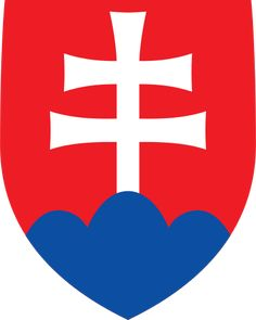 Coat of arms of Slovakia - Štátny znak Slovenska – Wikipédia Bratislava, Slovakia Flag, Prague Spring, Cross Symbol, Warsaw Pact, National Animal, Central And Eastern Europe, Pattern Photography, Aircraft Design