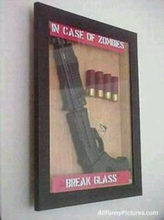 I might have to make this... Hang a couple around the man cave (with fake guns, no way he could help himself if they were real) Garage, ideas, man cave, workshop, organization, organize, home, house, indoor, storage, woodwork, design, tool, mechanic, auto, shelving, car.