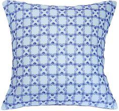 Swedish Weave Pillow Little Boxes