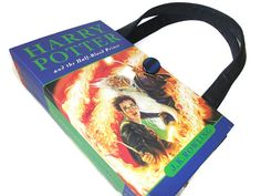 Harry Potter Book Purse Half Blood Prince Recycled by retrograndma, $49.99