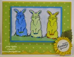 On The Fringe: JessicaLynnOriginal.com Blog Hop Featuring Some Bunny Special Today we are featuring projects featuring the Some Bunny Special stamp set!  This adorable Easter stamp set is so versatile and fun.  The Design Team has created many beautiful projects featuring this set.  http://www.jessicalynnoriginal.com/jessicalynnoriginal-happy-easter-some-bunny-special-clear-rubber-stamp-set/