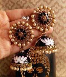 Indian Jewelry Earrings, Fancy Jewellery, Head Jewelry, India Jewelry, Jewelry Party, Jewelry Sets, Jumka Earrings, Fashion Jewelry, Fashion Wear