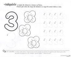 Numbers Preschool, Preschool Math, Preschool Worksheets, 4 Year Old Activities, Number Activities, Business Correspondence, Pre School, Alphabet, Album