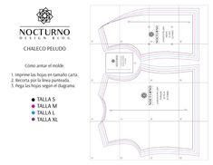 Design Blog, Map, Patterns, Free, Dressmaker, Vestidos, Fur Vests, Jacket Pattern, Pockets