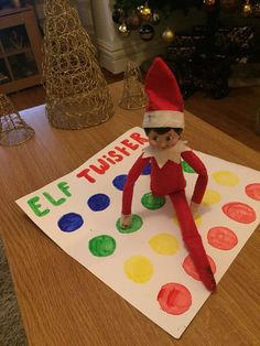 100 Hilarious Elf on the shelf ideas to cherish the sweet Smile on your Kid's Face – Hike n Dip 100 idées d'elfe hilarant sur … Elf Ideas Easy, Awesome Elf On The Shelf Ideas, Elf Is Back Ideas, Elf On The Shelf Ideas For Toddlers, Christmas Elf, All Things Christmas, Christmas Crafts, Christmas Bedroom, Christmas Christmas
