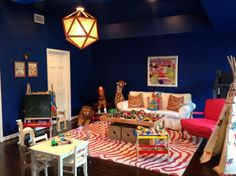 The Power of Paint - I love this room!! The toys are the color and decoration! Had to share.