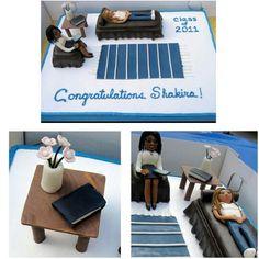 Psychology major graduation cake