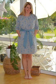 DIY Kleid mit Vögeln