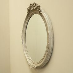Anna Rose Oval Mirror