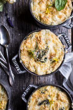 Cheesy Kale and Corn