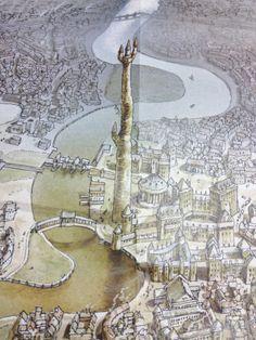 The Tower of Art of the Unseen University, Terry Pratchett's Disc World