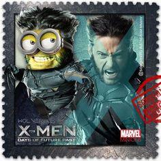Minion Lobezno de X-Men