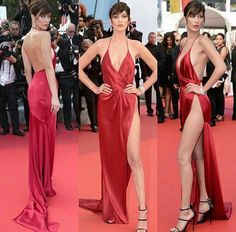 Bella Hadid in Alexandre Vauthier - Cannes 2016