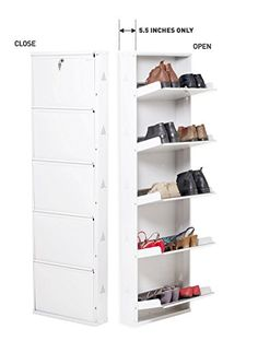 furniture designs Prab Shoe Rack with 5 Shelves (Ivory) Should You Buy Todder Size Hanging Organizer, Shoe Organizer, Organizers, Modern Furniture, Home Furniture, Furniture Design, Furniture Projects, Best Shoe Rack, Space Saving Shoe Rack