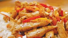 Chicken and Peppers in Crème Sauce , Trader Joe's Recipe