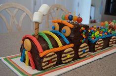 Chocolate Train Birthday Cake - Annie's Amazing Cakes