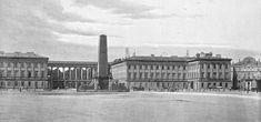 Pomnik lojalistów na Placu Saskim w Warszawie, 1841-1894