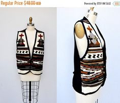 30% OFF SALE WOOL Vest Peruvian Vest Guatemalan Vest Wool