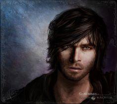 Jaydee - Der Protagonist meiner Buchreihe. Die Bilder wurden von mir in Photoshop CC und einem Wacom-Tablett selbst gemalt.
