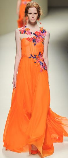 Alberta Ferretti Ready To Wear Spring Summer 2014