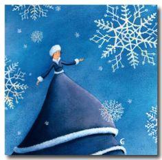"""""""Les flocons de neige"""", de Marie Cardouat"""