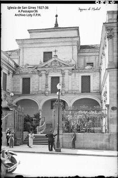 La Iglesia de San Ginés entre 1927-36