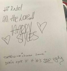 Harry Tattoos, Harry Styles Tattoos, Cute Tattoos, Small Tattoos, Tatoos, Arte One Direction, One Direction Tattoos, Harry Styles Quotes, Harry Styles Pictures