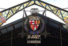 Mercat de Sant Josep de la Boqueria, Barcelona, Spain