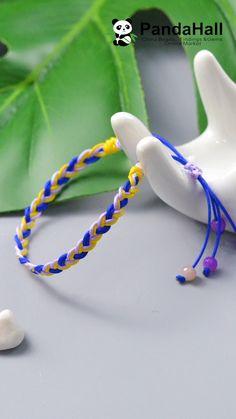 Chevron Friendship Bracelet Tutorial: 8 Steps (with Pictures Friendship Bracelets Tutorial, Diy Bracelets Easy, Braided Bracelets, Friendship Bracelet Patterns, Bracelet Tutorial, Ankle Bracelets, Bracelet Fil, Bracelet Crafts, Hanging Beads