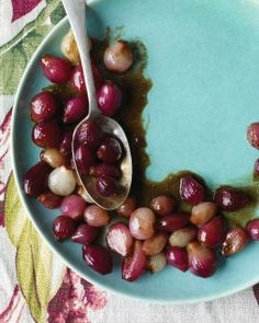 Balsamic-Glazed Pearl Onions Recipe