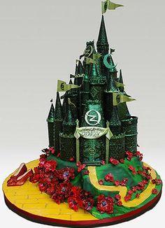 Ron Ben-Israel Wizard of Oz Cake.