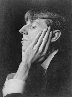 Aubrey Beardsly retrato, debuxante e escritor inglés, colega de Oscar Wilde