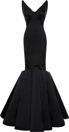 Love this: Stretch Duchess Gown  ZAC POSEN  OSCAR dress dressmesweetiedarling