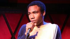 """#TBT to that time Childish Gambino rapped/wrapped his track """"Bonfire"""" for Baeble at Rockwood Music Hall in 2011. Check out our Throwback Thursday for the full cut session: http://baeble.me/1nqD3Vt"""