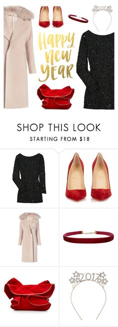 """New Year's Eve"" by freddarling ❤ liked on Polyvore featuring Antik Batik, Christian Louboutin, Diane Von Furstenberg, Humble Chic and Nina Ricci"