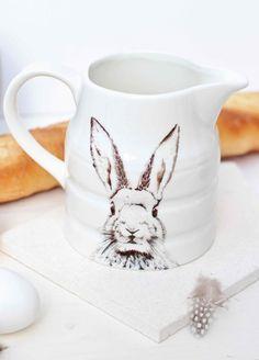 bunnycottage.quenalbertini: Bunny mug