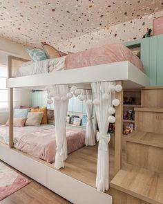 Kids Bedroom Designs, Bedroom Decor For Teen Girls, Cute Bedroom Ideas, Room Design Bedroom, Kids Room Design, Room Ideas Bedroom, Home Room Design, Cool Teen Rooms, Teen Girl Bedding