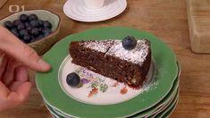Čokoládový dort z mandlové mouky — Kluci v akci — Česká televize Pudding, Cake, Pie Cake, Pie, Cakes, Puddings, Cookie