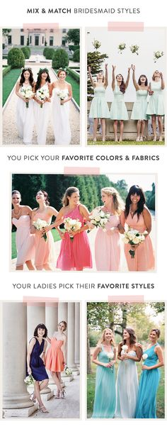 A Grand Wedding Giveaway - just starting with @Weddington Way  bridesmaids... but goes on to include @Minted @Brilliant Earth @Mariposa Gift @Jendarling aka Jen Bennett -- but time's a wasting. Get on over here to learn how to enter: http://www.StyleMePretty.com/2014/05/24/mix-and-match-dresses-by-weddington-way-a-giveaway/