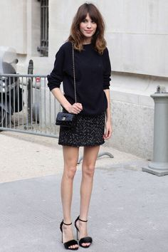 Alexa chung - street style outfit
