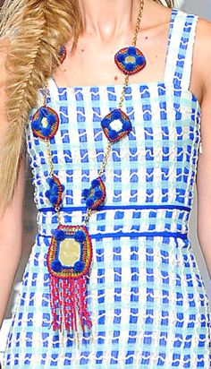 WOMEN'S FASHION COLLECTIONS SPRING/SUMMER 2013: PATTERNS AND PRINTS BY TORY BURCH IN NEW YORK