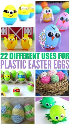 22 Different Uses for Plastic Easter Eggs