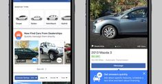 Facebook Marketplace will soon gain more options for buying cars