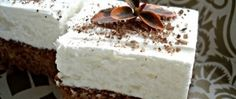 Mokri kolac - brzo se sprema, lagan je i ukusan ! ~ Recepti i Ideje Czech Recipes, Ethnic Recipes, Czech Desserts, 20 Min, Pavlova, Vanilla Cake, Food And Drink, Pudding, Cheese