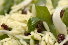Sweet and Tangy Orzo Salad Recipe by Giada De Laurentiis from Giada In Italy