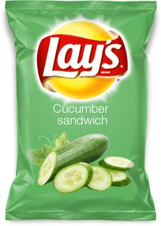 Cucumber sandwich-please vote for my new Lay's flavor :)