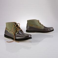 07ebf5190ce5 Polo Ralph Lauren - Brawley Leather Boat Shoe