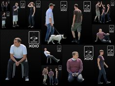 Adobe Photoshop  65 Free Cutout People by xoio - perfect for collages!