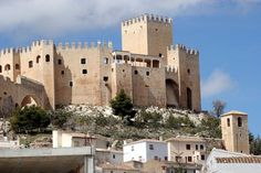 Castillo / Castle (Vélez-Blanco, #Almería), by @paconadal